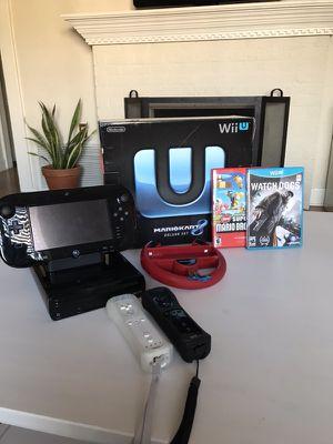 Mario Kart 8 Wii U Bundle w/ Extras!!
