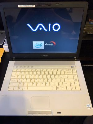 Sony laptop white color excellent condition