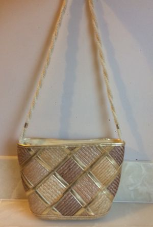 Worthington Gold and Brown Purse