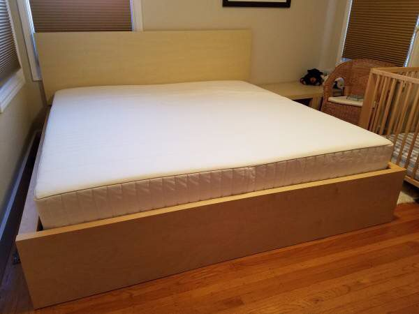 ikea full size bed frame mattress