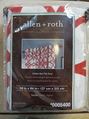 BRAND NEW 4 Sets Allen & Roth / 3 Sets StyleSelection Blackout curtains