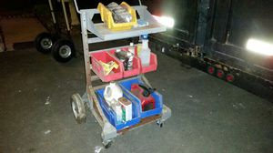 FOUR WHEEL UTILITY CART