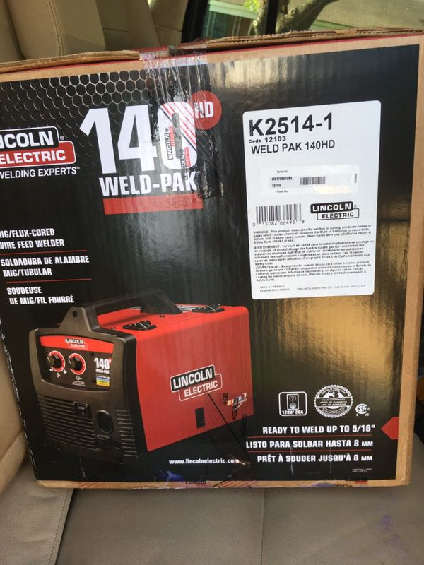 lincoln pak electric box en alsip the welding weld letgo used in i expert