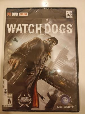 Watch Dogs PC sealed