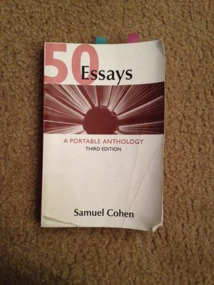 50 essays by cohen Find product information, ratings and reviews for 50 essays : a portable anthology (paperback) (samuel cohen) online on targetcom.