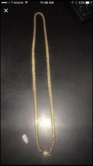 Cuban gold chain