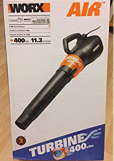 Worx Air WG516 Turbine Air Leaf Blower NEW IN BOX Video Games in