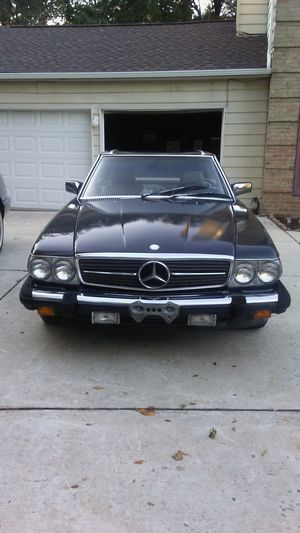 1988 Mercedes Benz 560 SL Convertible & Hardtop