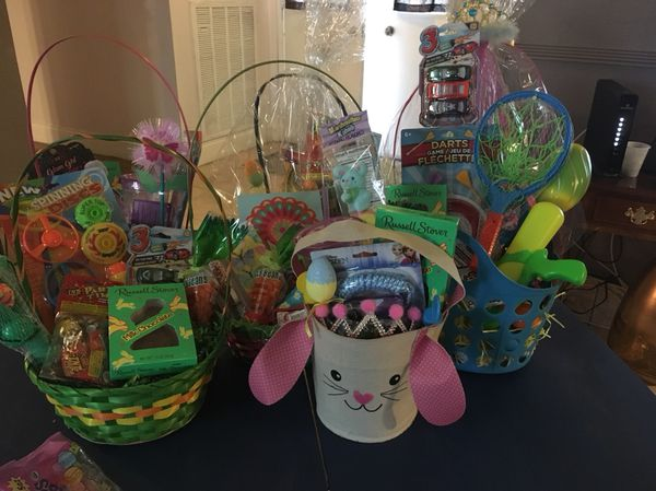Many easter baskets for all ages prices range from 15 and up baby many easter baskets for all ages prices range from 15 and up negle Images