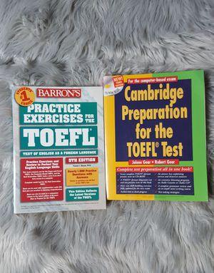 Free TOEFL preparation books OLD (2002-2006)