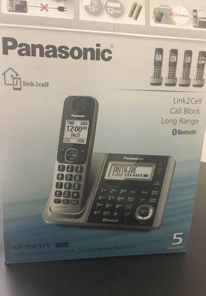 Panasonic KX-TGF375 5 Handsets