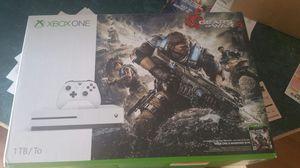 Xbox 1 slim gears of war edition