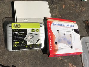 Dual cool netbook cooling stand