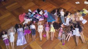 Dolls and clothes