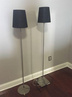 IKEA lamps - black shades