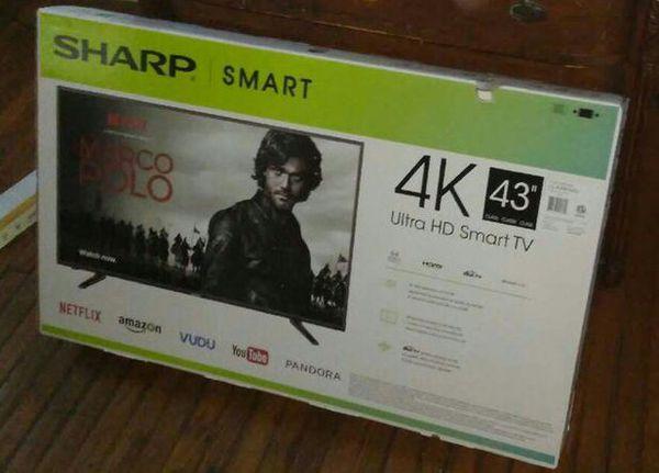 sharp 43 4k. sharp 43\ 43 4k