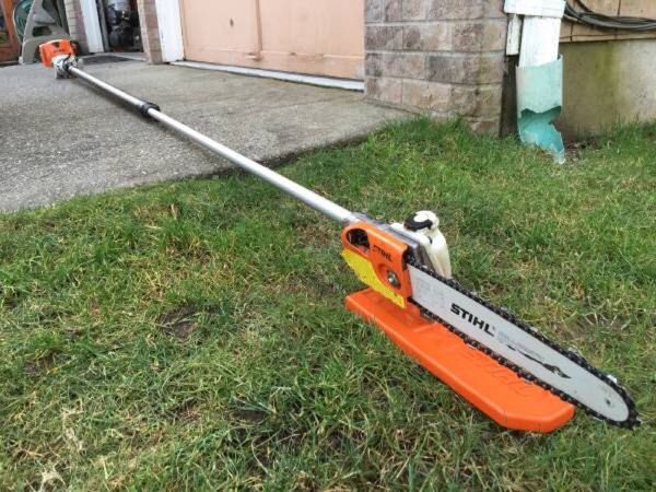 Stihl ht 101 professionalm gas powered pole pruner saw for Garden idea ht 450