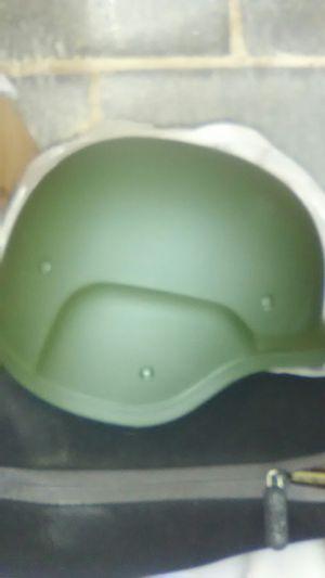 Helmets in Green
