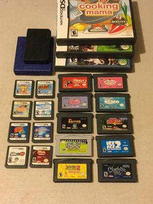 Nintendo DS and Game Boy Advance Video Game Lot