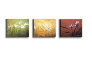 Karma by Don Li-Leger 3-pc Stretched Canvas Set