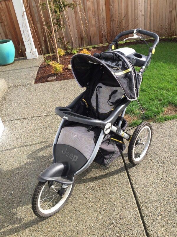 jeep jogging stroller baby kids in everett wa. Black Bedroom Furniture Sets. Home Design Ideas