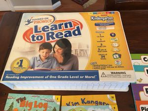 Hooked on PHONICS-Learn to READ-KG Edition