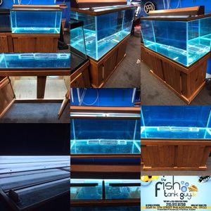120 gallon aquarium fish tank complete set up $700