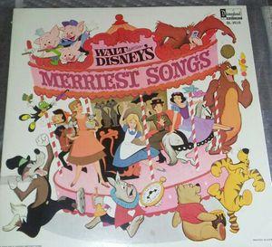 Walt Disneys. Merriest Songs -Buy ,Best Offer or Trade