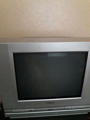 Small tv with controll works great