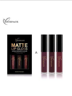 3 Piece Lip Gloss Set