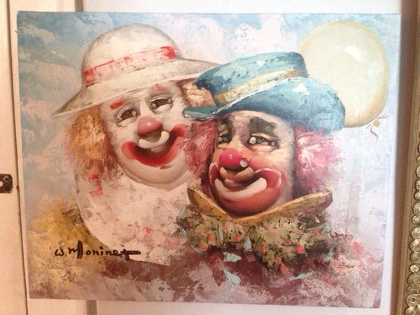 Antique Clown Paintings – HD Wallpapers
