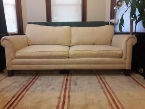 Beige couch- can deliver
