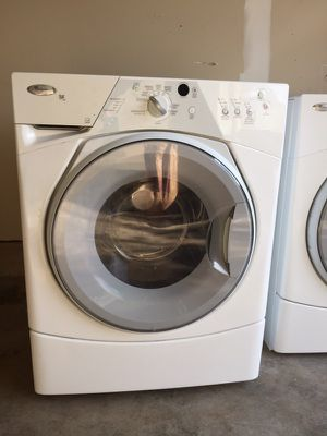 Whirlpool washer and dryer - front loaders