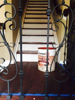Estalacion de pisos de madera y escaleras tanbien