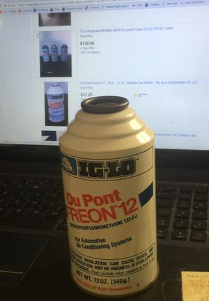 Du Pont Freeon R-12. 12oz can.(1only)