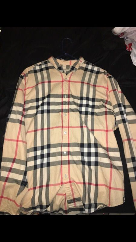 Authentic Burberry Brit long sleeve shirt