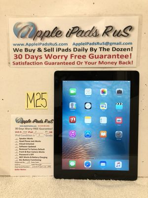 M25 - iPad 3 32GB