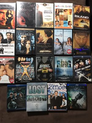 Lot of movies and tv shows
