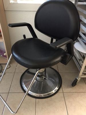 Recliner barber chair, hairdryer chair, nail polish rack