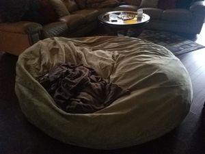 7 Foot Suede Bean Bag Chair