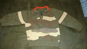 Camo kid sweater