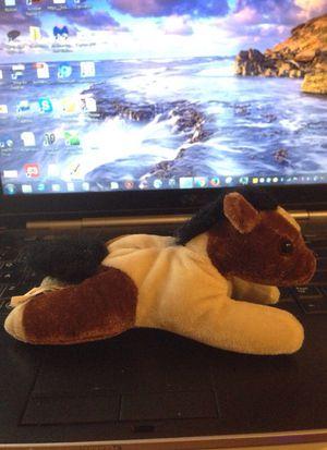 Laying horse small plush