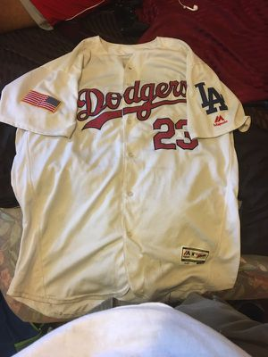 Fourth Of July Edition Dodgers Majestic Jersey