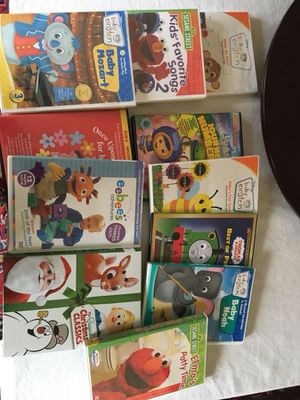 12 Children's DVDs