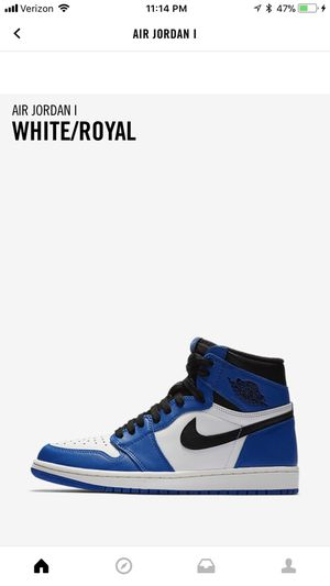 Air Jordan 1 hyper royal preorder