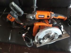 Gringder/skil saw/.and mix