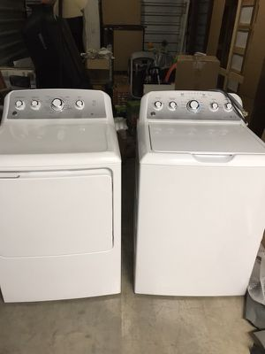 General Electric washer and dryer, great condition, barely used