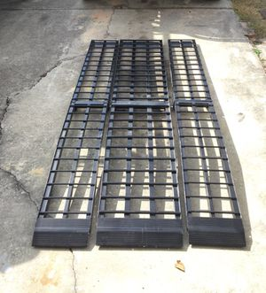Black widow heavy duty motorcycle ramp all aluminum