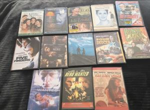 36 DVDs Total!!!! 13 new DVDs and old DVDs selling as a group DVDS one price $30.