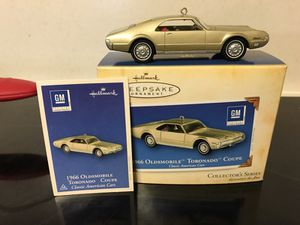 Hallmark Christmas Ornament 1966 Olds